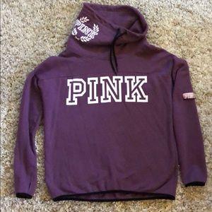 Victoria's Secret PINK Cowl-neck Sweatshirt